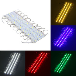 30PCS 5 Colors SMD5050 LED Module Store Strip Light Front Window Lamp + Power Supply + Remote DC12V