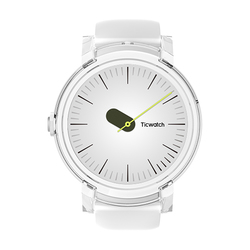 Category: Dropship Smart Devices, SKU #1150108, Title: TicwatchE 1.4inch 400*400 300mAh IP67 Heart Rate GPS Smart Watch