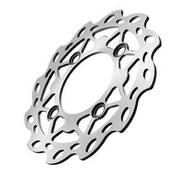 190mm Front Rear Brake Discs Pit Bike Wheel Wavy For Motorcycle 125cc 140cc
