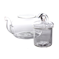 800 mL Heat Resistant Glass Tea Pot Flower Tea Set Puer kettle Coffee Teapot Office Home Teaset