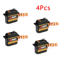 4Pcs EMAX ES09MD Digital Swash Servo For 450 Helicopter With Metal Gear