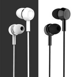 USAMS EP-12 In-ear Waterproof Wired Control Electroplated Earphone Headphone With Mic