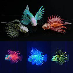 Yani Aquarium Ornament Glowing Effect Silicone Artificial Decoration for Fish Tank