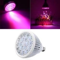 36W E27 LED Full Spectrum Grow Light Lamp Blub for Indoor Hydroponic Plant Flower