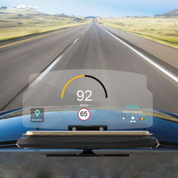 Universal HUD Head Up Display Car Cell phone GPS Navigation Image Reflector Holder Mount