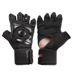 Anti Skid Wrist Half Finger Sport Lifting Gloves Gym Training Fitness Riding