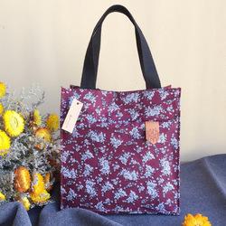 KC-LG09 Large Capacity Cotton Lunch Tote Bag Travel Picnic Lady Handbag Food Storage Organizer