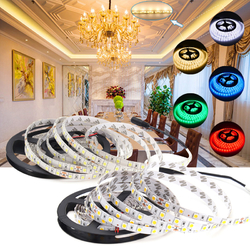 5M 72W SMD5050 Non-Waterproof 300LEDs Flexible Strip Tape Light for Home Decoration DC24V