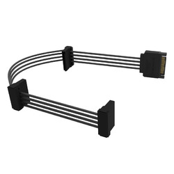 ORICO DC15P-PX3 1 to 3 15 Pin Power Extension Cable for HDD CD-ROM