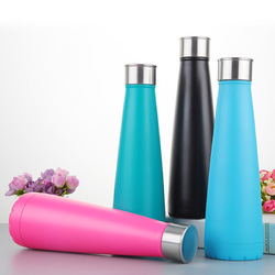 HONANA CF-IC01 Outdoor Sports Thermal Insulation Stainless Steel Bottle Kettle For Water Cola Style