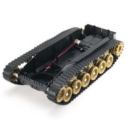3V-9V DIY Shock Absorbed Smart Robot Tank Chassis Crawler Car Kit With 260 Motor