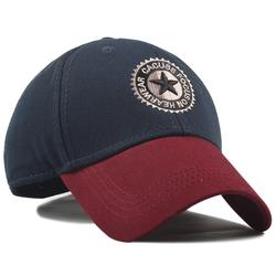 Men Women Cotton Embroidery Star Baseball Cap Casual Outdoor Sports Visor Sun Hats Adjustable