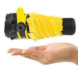 Honana HN-KU3 Compact Mini Travel Umbrella Light Weight Tiny Waterproof Pocket UV Rain Umbrellas