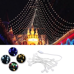 USB Powered 2.2M 20LEDs Ball Shaped Waterproof Fairy String Light For Christmas
