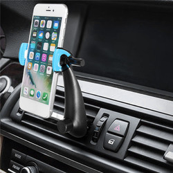 Universal Hook Mount 360 Degree Rotation Car Air Vent Phone Holder Stand for iPhone Samsung