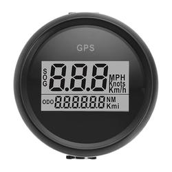 52mm Waterproof GPS Digital Speedometer Gauge For Motorcycle Marine Boat Car Truck