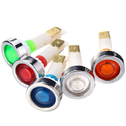 12V 10mm LED Indicator Lamp Pilot Dash Dashboard Panel Warning Light
