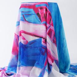 LYZA 130CM Women Soft Printing Scarf Towel Elegant Long Shawl Scarves