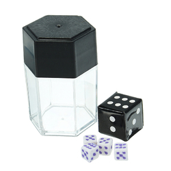 Trick Toys Big Explode Explosion Dice Close Up Magic Prank Toy Children Gift Small Size 1Change 4