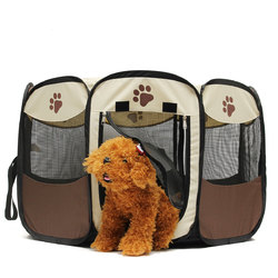 OxGord 45cm Pet Dog Cat Playpen Tent Portable Exercise Fence Kennel Cage Crate