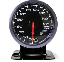 2.5 inch 60mm Step Motor Water Temp Temperature Gauge LED Pointer Meter Pod Holder
