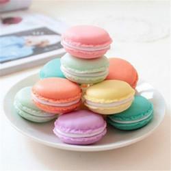Cute Candy Color Macaron Mini  Birthday Gift Box Waterproof Storage Jewelry Rings Pill Box