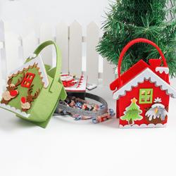 Christmas Day Stocking Decoration Santa Candy Bag Stocking Christmas Gift Bags Santa Claus Christmas Gifts Hand Bag