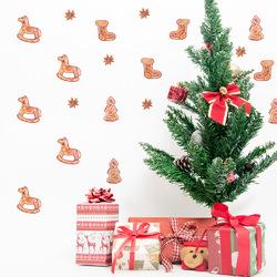 Christmas 2017 Funlife Personality Wall Stickers Christmas Decorations Christmas Socks