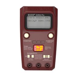 BSIDE ESR02PRO Digital Transistor SMD Components Tester Diode Triode Capacitance Inductance ESR Meter