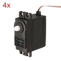 4 X Genuine Futaba S3003 Standard Nylon Gear Servo For Remote Control Model
