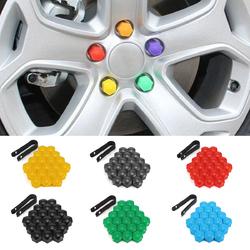 20pcs 17mm Car Wheels Plastic Nuts Screw Cap Removal Tools For AUDI VW
