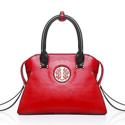 Elegant PU Leather National Style Handbag Shoulder Bag Crossbody Bags For Women