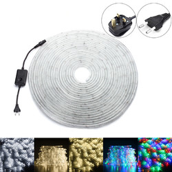 14M SMD3014 Waterproof Flexible LED Tape Ribbon Strip Light  Colorful Warm White White AC220V