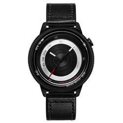 BREAK T45 Unique Style Unisex Watch Leather or Rubber Strap Quartz Wrist Watch