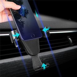 Universal Gravity Car Air Vent Holder Outlet Phone Mount Bracket for Samsung iPhone X iPhone 8