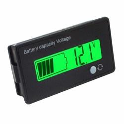 5Pcs 12V/24V/36V/48V 8-70V LCD Acid Lead Lithium Battery Capacity Indicator Digital Voltmeter