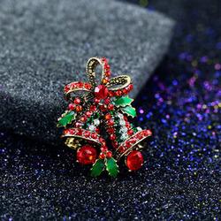 Fashion 2017 Christmas Gifts Brooches  Rhinestone Brooch
