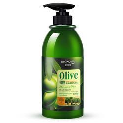 BIOAQUA Olive Oil Anti Dandruff Shampoo Hair Cleansing Moisture Smooth 400g