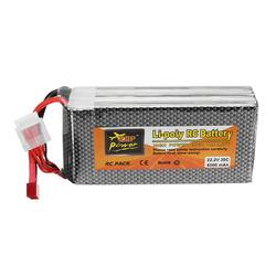 ZOP Power 22.2V 6000mAh 35C 6S Lipo Battery T Plug for RC Model