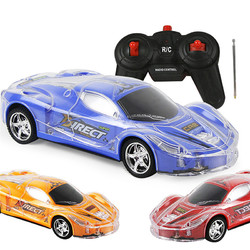2403A 1/24 RC Remote Control Roadster Sports Auto Light Up Play Vehicles with 3D Light for Kids Boys Girls