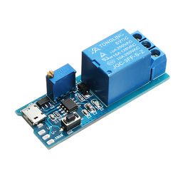 5-30V 10A Wide Voltage Trigger Delay Relay Module Timer Module Two Trigger Modes With Strong Anti-Interference Ability And Continuous Flow Protection Function