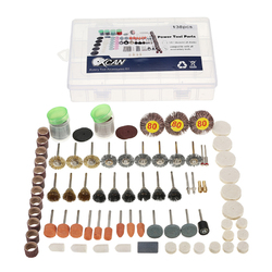 133pcs Multi Rotary Tool Accessories Set Grinding Polishing Drilling Kits for Dremel