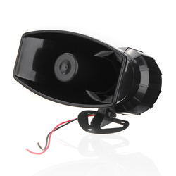 100W 12V Boat Warning Alarm 7 Sound Loud Car Wireless Fire Horn Speaker System 125 DB