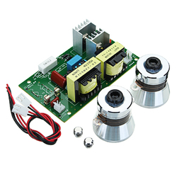 AC 220V 60W-100W Ultrasonic Cleaner Power Driver Board With 2Pcs 50W 40KHZ Transducers