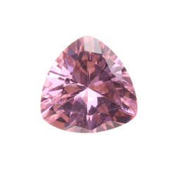 Pink Sapphire Unheated Trillion Cut DIY Making