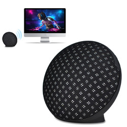 Universal Mini Stereo Desktop Wireless bluetooth Speaker with Mic for Samsung iPhone 8 X