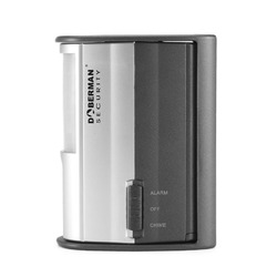 DOBERMAN Security SE-0104 100dB Wide Coverage Motion Detector Alarm or Chime with Infrared Sensor
