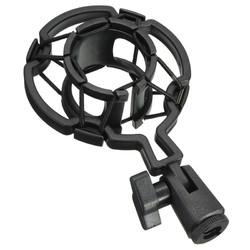 Universal Black Plastic Studio Microphone Shock Mount Desktop Holder Stand for Condenser Microphone