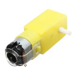 5Pcs DC 3V-6V Gear Reducer Motor For  DIY Smart Car Robot