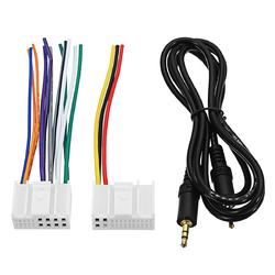 AUX CD Socket Cable Connector Line for K3 K4 K5 MISTRA